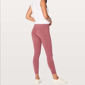 "NWT Lululemon Wunder Under Hr Tight 25""-Size 8"